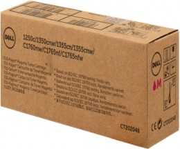 Toner Original DELL HX76J Magenta ~ 700 Paginas