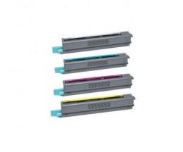 4 Toners Compativeis, Lexmark C925H Preto + Cor ~ 8.500 / 7.500 Paginas