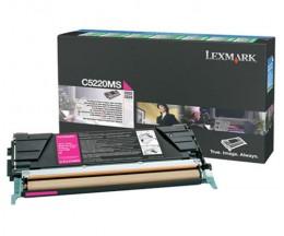 Toner Original Lexmark C5220MS Magenta ~ 3.000 Paginas