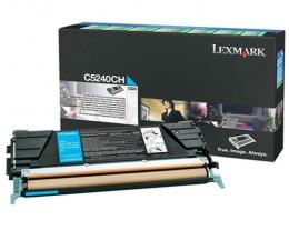 Toner Original Lexmark C5240CH Cyan ~ 5.000 Paginas