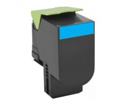 Toner Compativel Lexmark 702HC Cyan ~ 3.000 Paginas