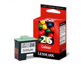 Tinteiro Original Lexmark 26 Cor 13.8ml ~ 275 Paginas