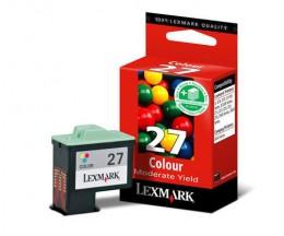 Tinteiro Original Lexmark 27 Cor 9.2ml ~ 220 Paginas