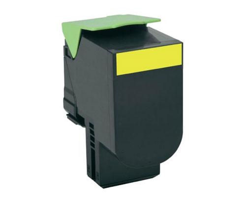 Toner Compativel Lexmark 802SY Amarelo ~ 2.000 Paginas