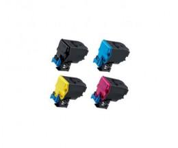 4 Toners Compativeis, Konica Minolta A5X0X50 Preto + Cor ~ 10.000 Paginas