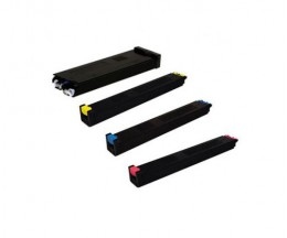 4 Toners Compativeis, Sharp MX51 Preto + Cor ~ 40.000 / 18.000 Paginas