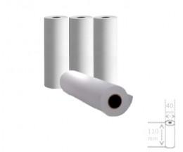 4 Rolos de Papel Térmico 110x40x11mm