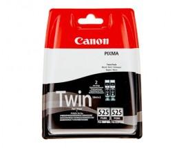 2 Tinteiros Originais, Canon PGI-525 Preto 19ml