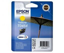 Tinteiro Original Epson T0454 Amarelo 8ml