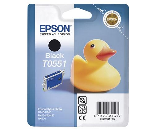 Tinteiro Original Epson T0551 Preto 8ml