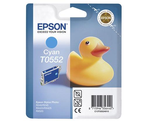 Tinteiro Original Epson T0552 Cyan 8ml