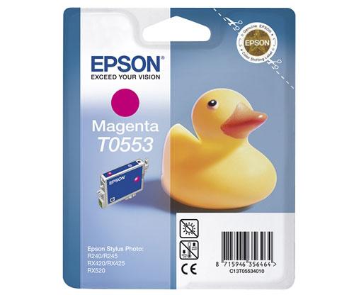 Tinteiro Original Epson T0553 Magenta 8ml