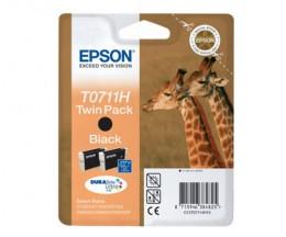 2 Tinteiros Originais, Epson T0711H Preto 11.1ml