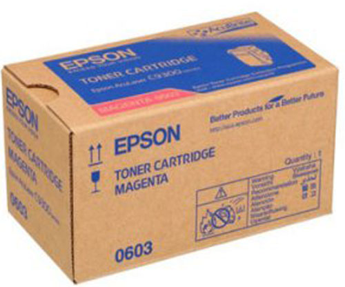 Toner Original Epson S050603 Magenta ~ 7.500 Paginas