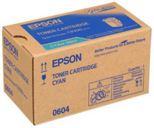 Toner Original Epson S050604 Cyan ~ 7.500 Paginas