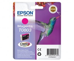 Tinteiro Original Epson T0803 Magenta 7.4ml