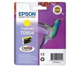 Tinteiro Original Epson T0804 Amarelo 7.4ml
