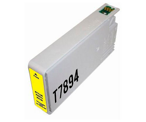 Tinteiro Compativel Epson T7894 Amarelo 35ml