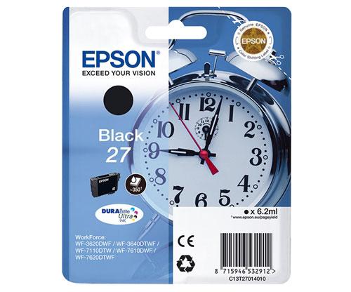 Tinteiro Original Epson T2701 / 27 Preto 6.2ml