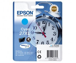 Tinteiro Original Epson T2712 / 27 XL Cyan 10.4ml