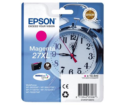 Tinteiro Original Epson T2713 / 27 XL Magenta 10.4ml