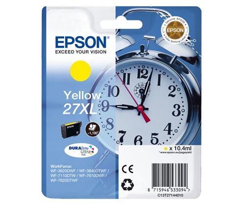 Tinteiro Original Epson T2714 / 27 XL Amarelo 10.4ml