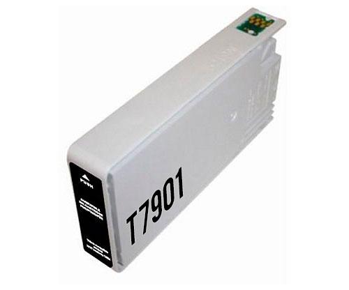 Tinteiro Compativel Epson T7901 / T7911 / 79 XL Preto 42ml