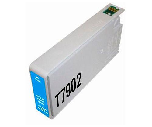 Tinteiro Compativel Epson T7902 / T7912 / 79 XL Cyan 19ml