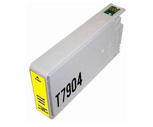 Tinteiro Compativel Epson T7904 / T7914 / 79 XL Amarelo 19ml