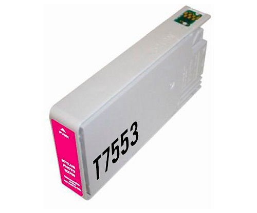 Tinteiro Compativel Epson T7563 / T7553 Magenta 39ml ~ 4.000 Paginas