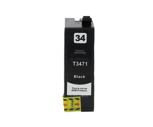 Tinteiro Compativel Epson T3471 / T3461 / 34 XL Preto ~ 1.100 paginas