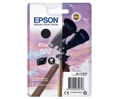Tinteiro Original Epson T02V1 / 502 Preto 4.6ml