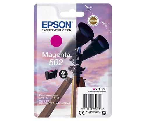 Tinteiro Original Epson T02V3 / 502 Magenta 3.3ml