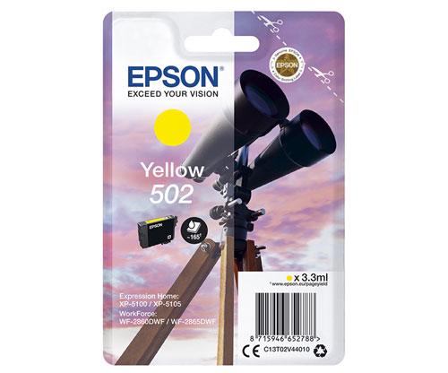 Tinteiro Original Epson T02V4 / 502 Amarelo 3.3ml