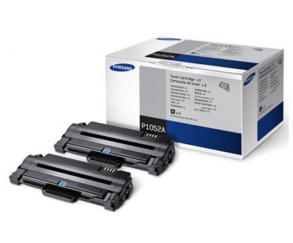 2 Toners Originais, Samsung P1052A Preto ~ 2.500 Paginas
