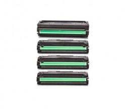 4 Toners Compativeis, Samsung 503L Preto + Cor ~ 8.000 / 5.000 Paginas