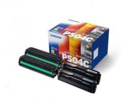 4 Toners Originais, Samsung P504C Preto + Cores ~ 2.500 / 1.800 Paginas