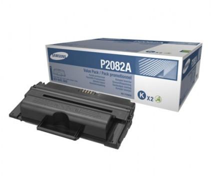 2 Toners Originais, Samsung P2082A ELS Preto ~ 10.000 Paginas