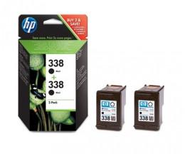 2 Tinteiros Originais, HP 338 Preto 11ml