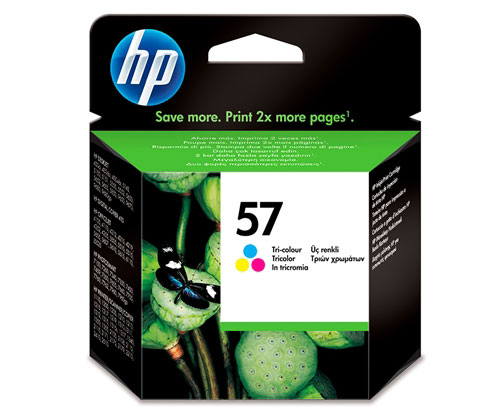 Tinteiro Original HP 57 Cor 17ml ~ 500 Paginas