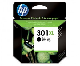 Tinteiro Original HP 301 XL Preto 8ml ~ 480 Paginas