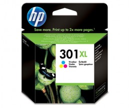 Tinteiro Original HP 301 XL Cor 6ml ~ 330 Paginas