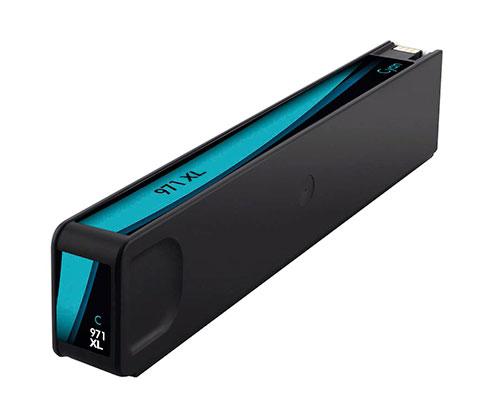 Tinteiro Compativel HP 971 XL Cyan 110ml