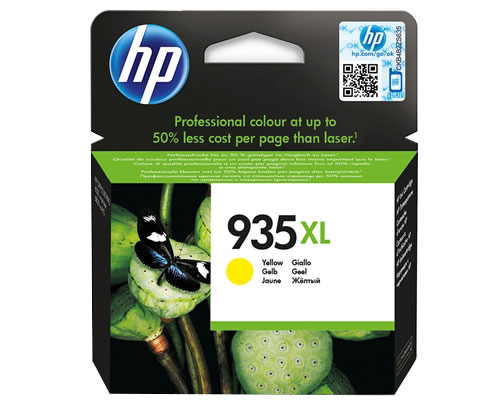 Tinteiro Original HP 935 XL Amarelo ~ 825 Paginas