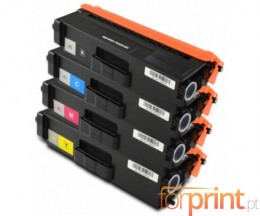 4 Toners Compativeis, Brother TN-326 Preto + Cor ~ 4.000 / 3.500 Paginas