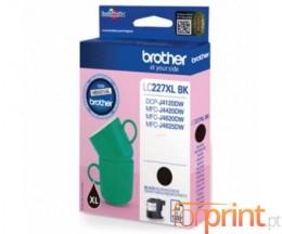 Tinteiro Original Brother LC227 XLB K Preto 25ml ~ 1.200 Paginas