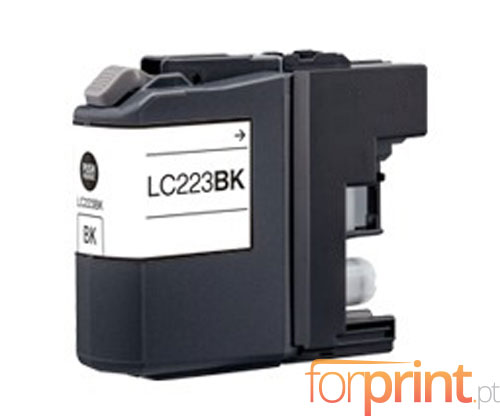 Tinteiro Compativel Brother LC-221 BK / LC-223 BK Preto 16.6ml