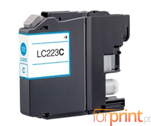 Tinteiro Compativel Brother LC-221 C / LC-223 C Cyan 9ml