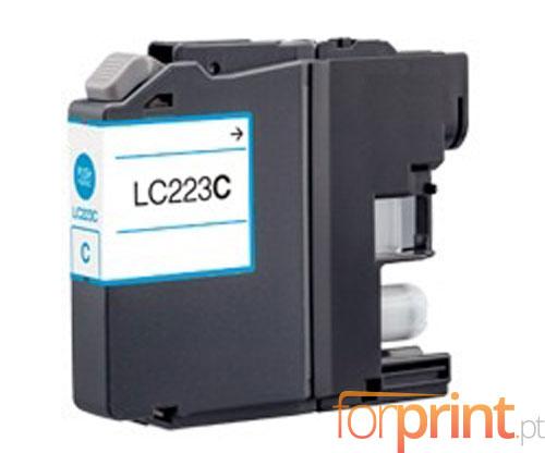 Tinteiro Compativel Brother LC-221 C / LC-223 C Cyan 9ml