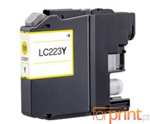 Tinteiro Compativel Brother LC-221 Y / LC-223 Y Amarelo 9ml